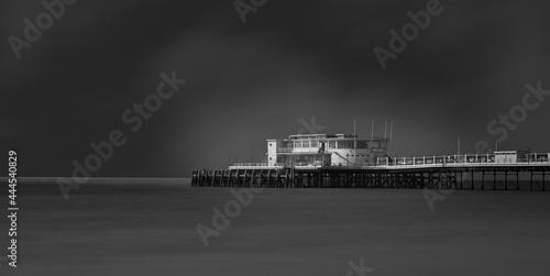 Fotografie, Obraz worthing pier in black and white fine art