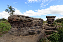 Brimham Rocks Park, Yorkshire