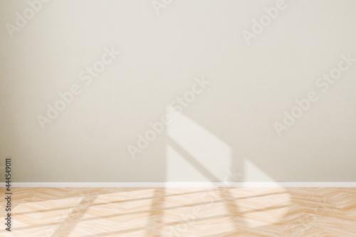 Tela Interior scene: empty living room in a loft style building