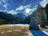 hiver à Lauenen, Suisse