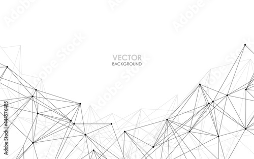 ネットワークイメージ ベクター素材 Fototapeta