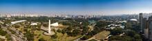 Parque Do Ibirapuera Vista Aérea Panorámica