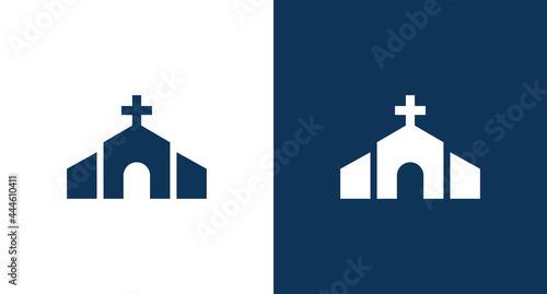 Foto Church icon illustration isolated vector sign symbol