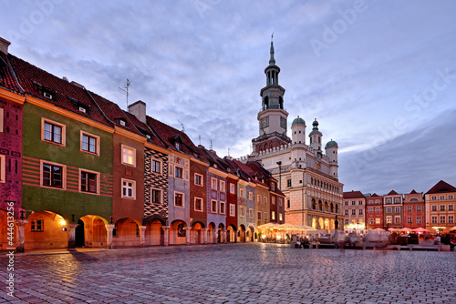 Fototapeta premium Market square, Poznan, Poland.