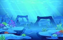 Under Water Sea Background