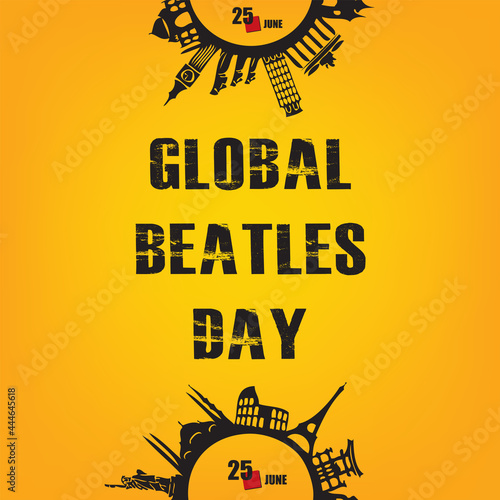 Tela Happy Global Beatles Day