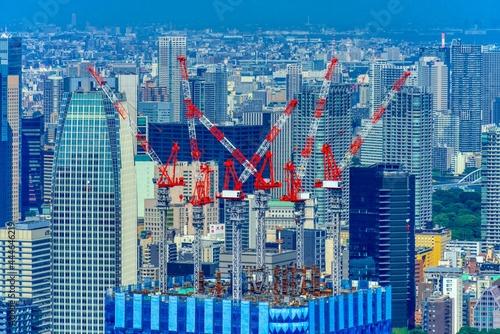 東京風景 ビル群