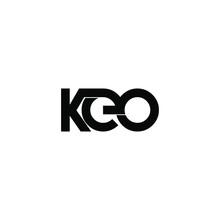 Keo Initial Letter Monogram Logo Design