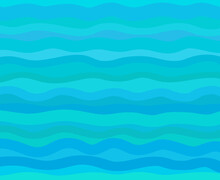 Abstract Geometric Wallpaper Of The Surface. Cute Background. Bright Colors. Pattern With Lines And Waves. Multicolored Texture. Decorative Style. Dinamic Texture. Doodle For Design