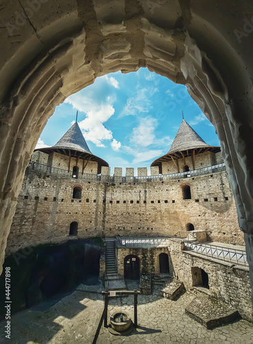 Fotografiet Soroca Fortress view from inside