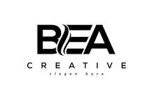 Letter BEA Creative Logo Design Vecto