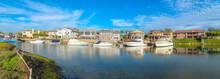 Estates At Huntington Beach, Southern California With Yachts