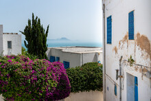 Sidi Bou Said In Tunisia. It Is A Town In Northern Tunisia Located About 20 Km From The Capital, Tunis.