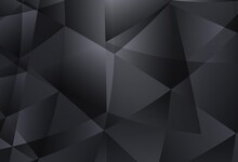 Light Gray Vector Triangle Mosaic Background.