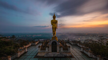 Temple In Nan Province During Sunset Phra That Chae Haeng Temple THAILAND Phra That Chae Haeng Temple THAILAND