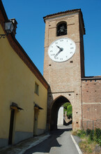 """Albenga Is An Italian Municipality Near Savona In Liguria. It Is An Ancient City And Has The Nickname """"City Of A Hundred Towers"""".The San Michele Cathedral And The Municipal Tower Are In The Old Center"""