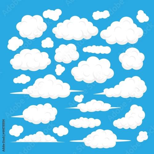 Fotografie, Obraz Flat Clouds Collection_6