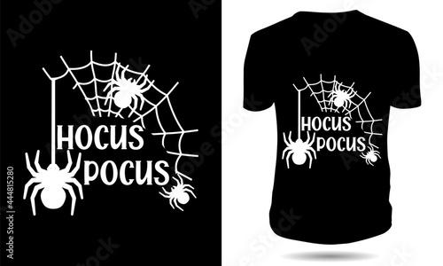 Stampa su Tela hocus pocus halloween tshirt