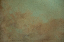 Rusty Turquiose Plastered Textured Background