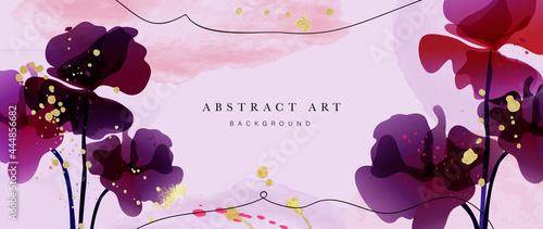 Fotografija Abstract art flower background vector