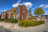 Fototapeta Kawa jest smaczna - Street modern houses