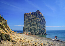 Parus (Sail) Rock In Krasnodar Region