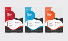 Modern Corporate Leaflet Creative Business Flyer Design Template