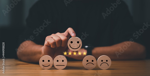 Fotografija customer services best excellent business rating experience