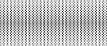Halftone Abstract Background. Monochrome Texture Made Of Geometric Shapes. Linear Pattern In Mosaic Of Polygons. Design Of  Banner,  Poster  Website, Frame For Social Networks. Vector Illustration.