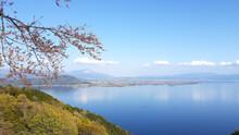 奥琵琶湖パークウェイからの景色