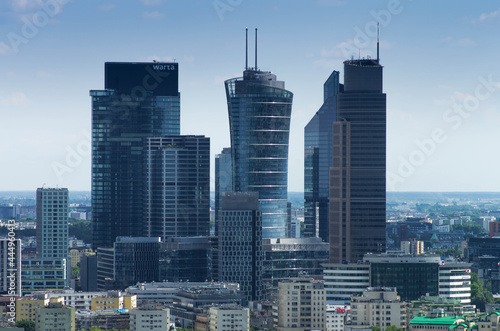 Fotografia, Obraz Warsaw - City center