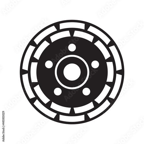 Fotografia, Obraz Grinding Disc. diamond grinding cup wheel