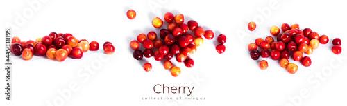 Fotografia Cherry isolated on a white background