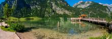 Königssee, Berchtesgaden, An Einem Sonnigen Sommertag