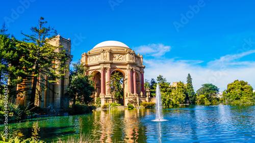 Fotografie, Obraz Beautiful shot of the Palace Of Fine Arts in San Francisco