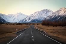 Mount Cook Village - New Zealand