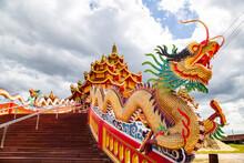 Wat Petch Suwan Chinese Temple In Phetchaburi, Thailand