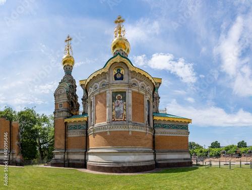 Foto Russian Chapel in Darmstadt, Germany