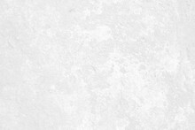 White Abstract Background From Grunge Cement Or Wall Texture, Space For Text Or Message Web And Book Design