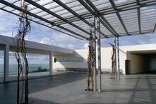 Tarifa (Cádiz) Spain. Access Area To The Interpretation Center Of The Roman City Of Baelo Claudia