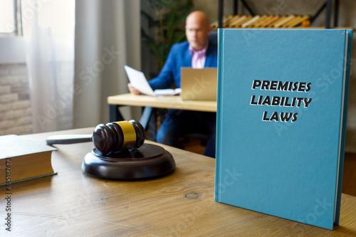 PREMISES LIABILITY LAWS book's title Fototapet