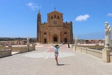 Vacatıon ın Malta Cıty Valletta And Church ın Gozo