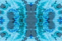 Tie Watercolor Pattern. Seamless Tie Dye Stripes.