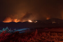 Getty Fire Los Angeles California Wildfire