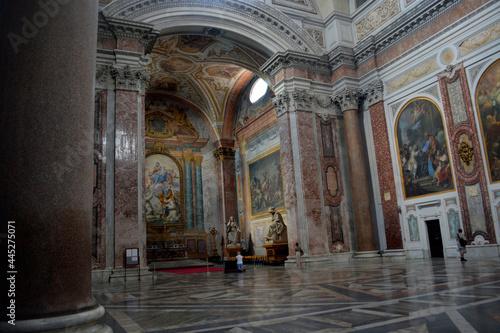 Fotografering Interior de iglesia