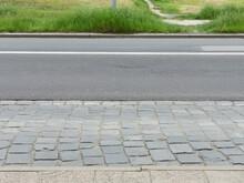 Empty Pavement And Asphalt Road