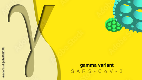 Tablou Canvas COVID-19 GAMMA VARIANT (B