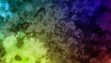 Abstract Colorful Watercolor Background Handwriting Ink Draw Depict Texture Graphic Design