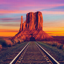 Texas Railroad.