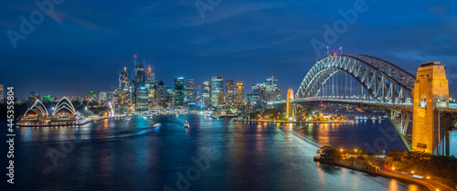 Obraz na plátně Cityscape image of Sydney